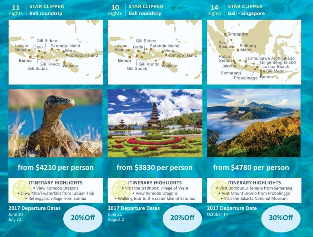 30% Off Indonesia Cruises May To October 2017 - Travel Experience for Travel To Indonesia In June