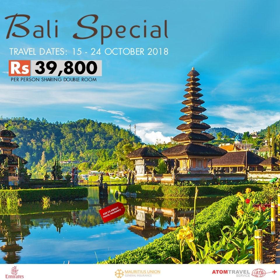 Bali Promo (October 2018) - Atom Travel in Travel To Bali October