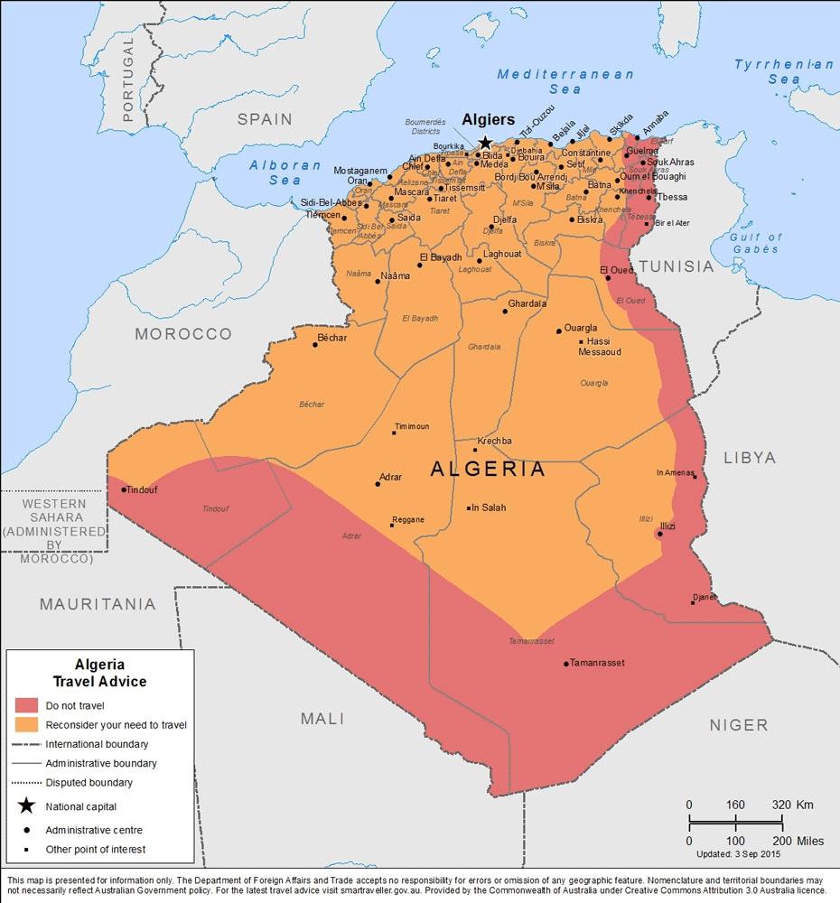 Smartraveller.gov.au - Algeria with Traveling To Algeria Is It Safe