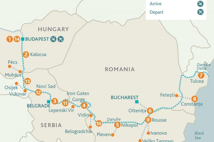 Budapest To The Black Sea River Cruise | Riviera Travel regarding Riviera Travel Budapest To Black Sea